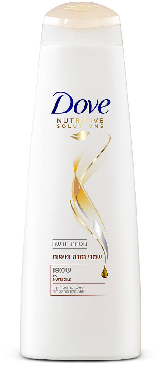 Dove | דאב שמפו שמני הזנה וטיפוחתמונה של