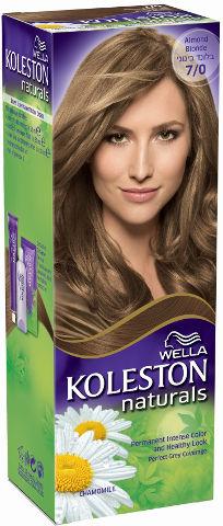 WELLA | קולסטון מיני קיט נטורל - קרם צבע לשיער 7/0 בלונד בינוניתמונה של