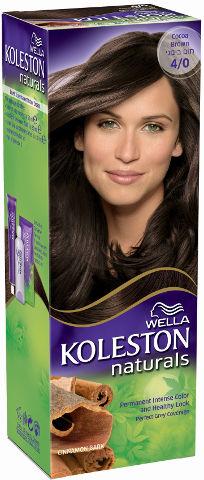 WELLA | קולסטון מיני קיט נטורל - קרם צבע לשיער 4/0 חום בינוניתמונה של