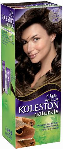 WELLA | קולסטון מיני קיט נטורל - קרם צבע לשיער 3/0 חום כההתמונה של