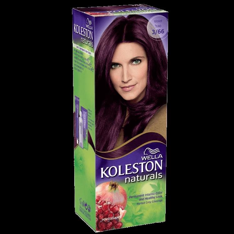 WELLA | קולסטון מיני קיט נטורל - קרם צבע לשיער 3/66 סגולתמונה של