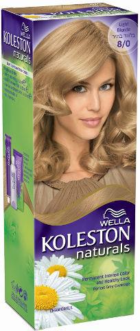 WELLA   קולסטון מיני קיט נטורל - קרם צבע לשיער 8/0 בלונד בהירתמונה של