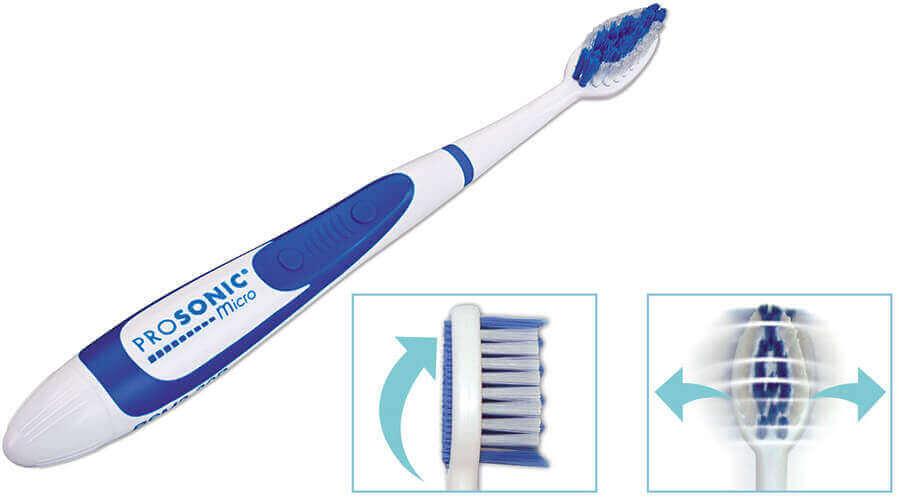 מברשת שיניים חשמלית עם טכנולוגיית סוניק Miradent prosonic micro 2תמונה של