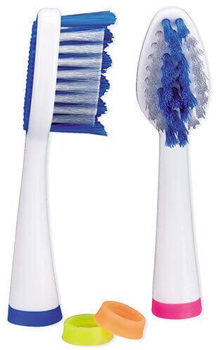 סט חלופי למברשת שיניים חשמלית עם טכנולוגיית סוניק Miradent Prosonic micro 2תמונה של