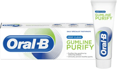 אורל בי GUM PURIFY משחת שיניים - ניקוי עמוקתמונה של