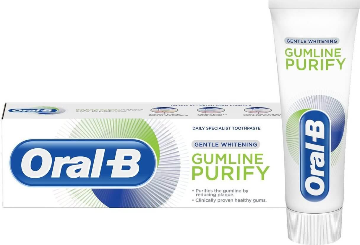 אורל בי GUM PURIFY משחת שיניים - הלבנה עדינהתמונה של