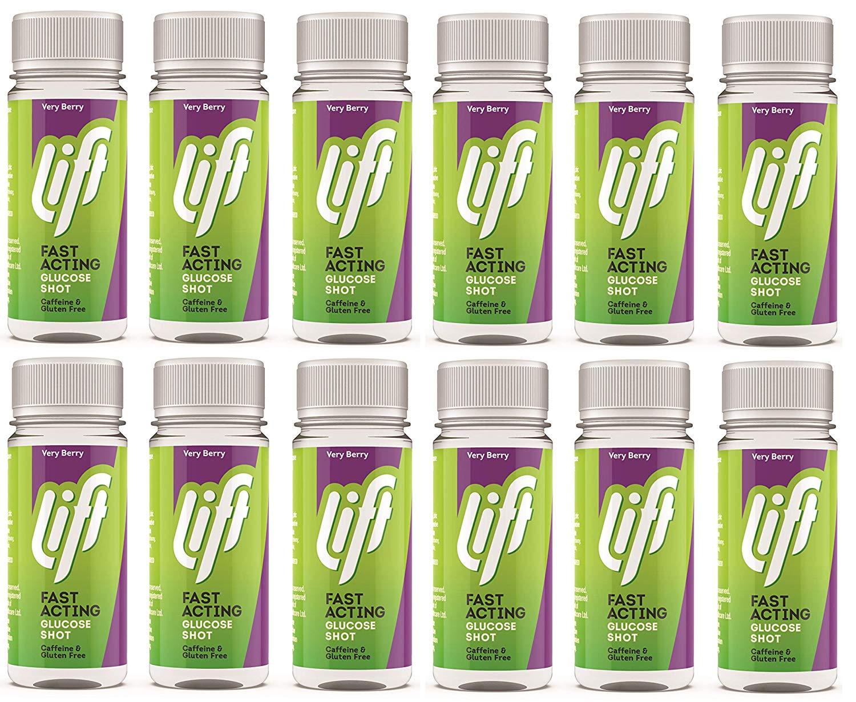 מארז 12 בקבוקוני גלוקוז ליפט lift תמונה של