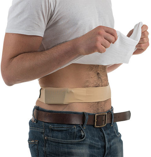 Comfy-Pump - חגורת בד אלסטית למשאבת אינסוליןתמונה של