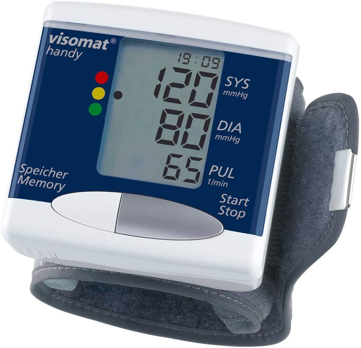 מד לחץ דם visomat handy לפרק כף הידתמונה של