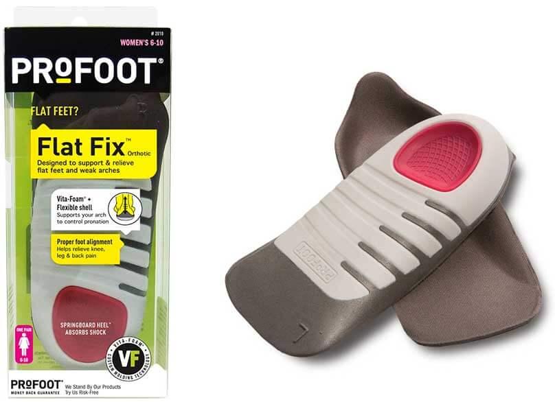 מדרס כף רגל שטוחה לנשים | PROFOOT Flat Fixתמונה של