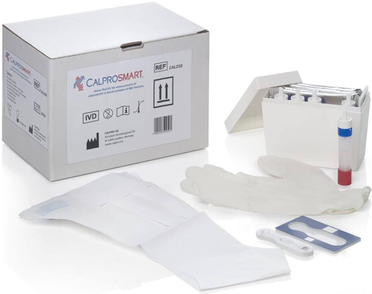 Calprosmart | קלפרוסמארט ערכה לבדיקת קלפרוטקטין ביתית (3 בדיקות )תמונה של
