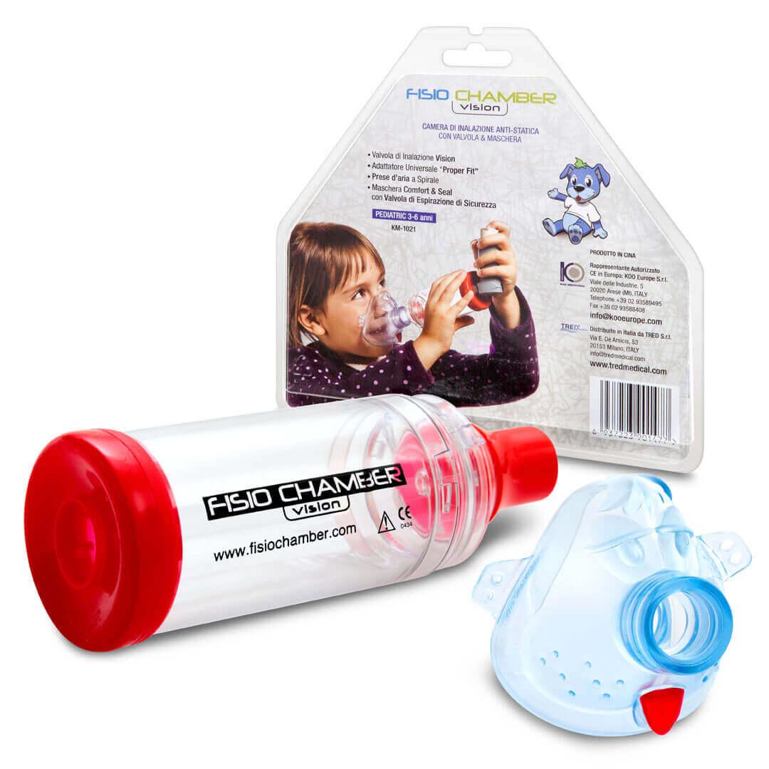 פיזיוצ'מבר - מכשיר למתן תרופות דרך משאף | Fisio Chamber Visionתמונה של