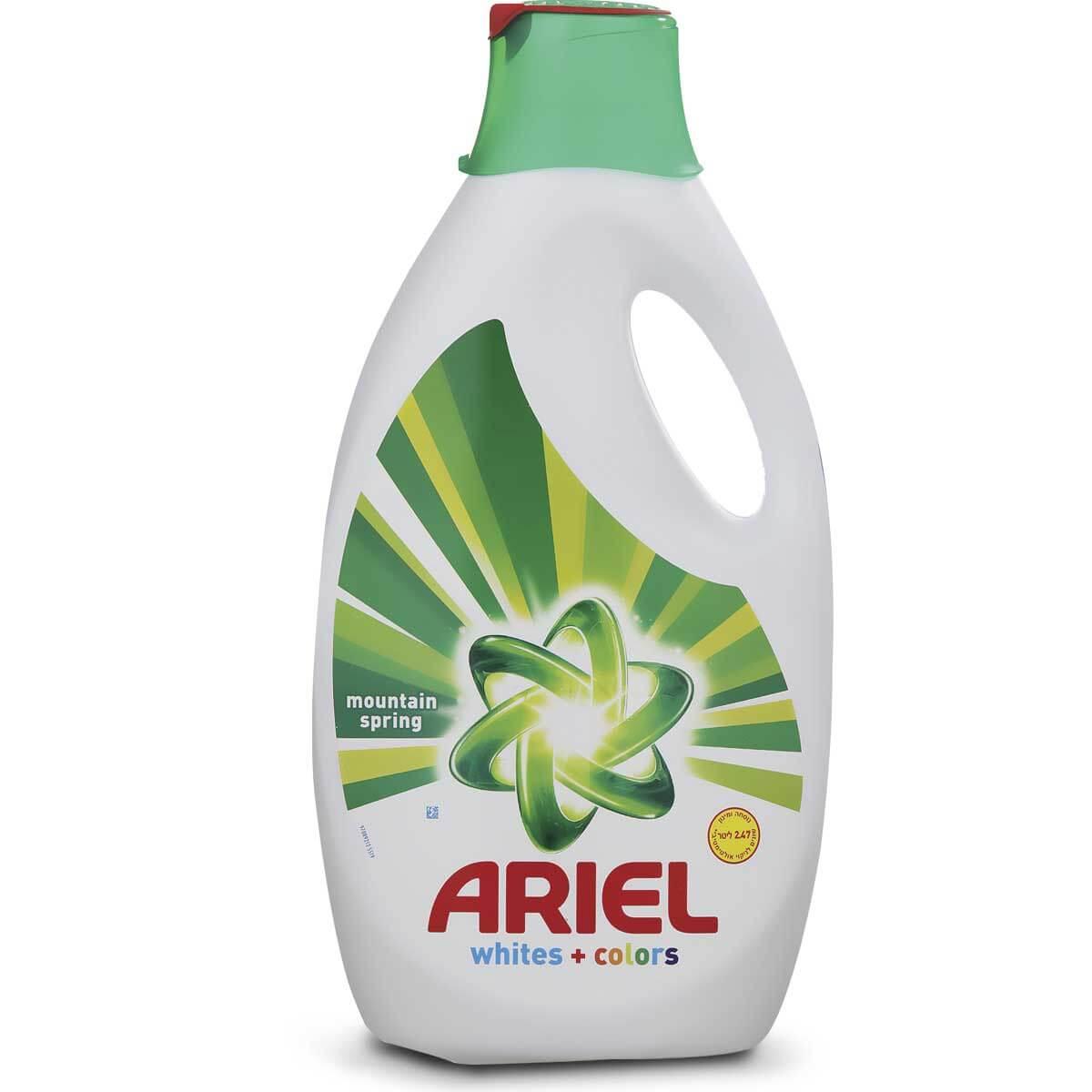 ג'ל כביסה אריאל 2.47 ל' לכביסה לבנה ו/או צבעונית בניחוח הריםתמונה של