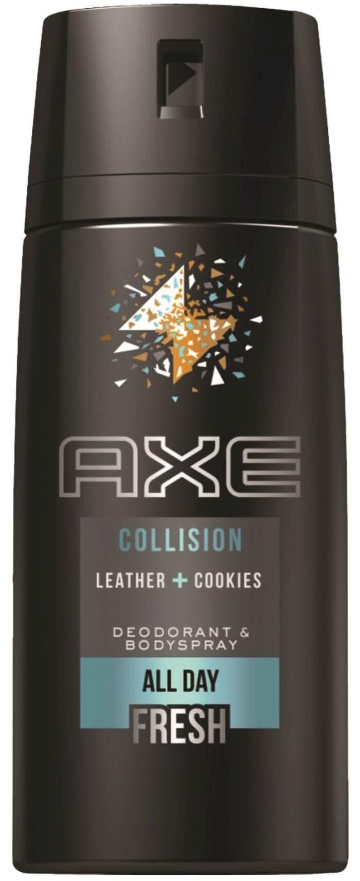 "AXE | אקס דאודורנט ספריי גוף לגבר קוליז'ן 150 מ""ל תמונה של"