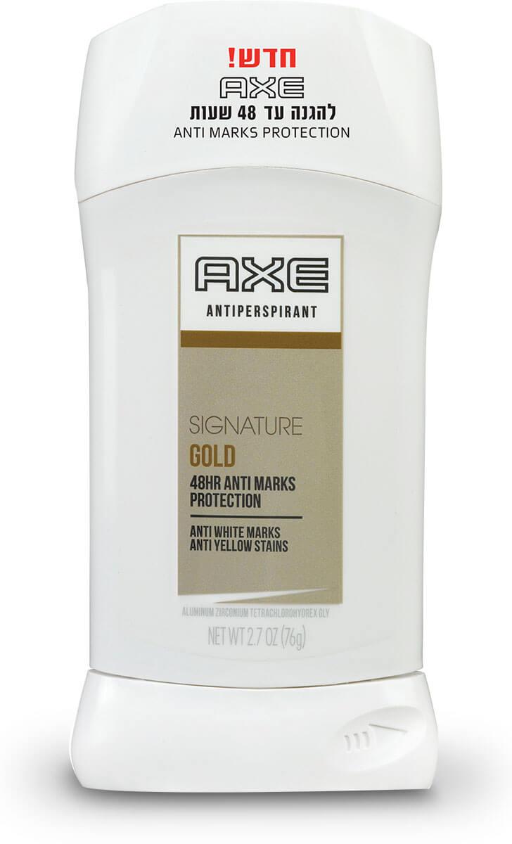 AXE | אקס - דאודורנט סטיק אנטיפרספירנט סיגנטורתמונה של