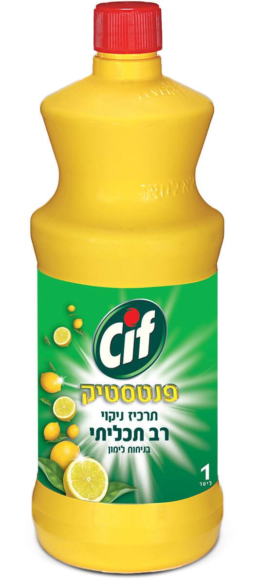 CIF | סיף תרכיז ניקוי כללי רב תכליתי בניחוח לימון 1 ליטרתמונה של