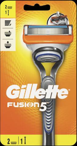 ג'ילט פיוזן מכשיר גילוח - ידית + 2 סכינים   Gilletteתמונה של
