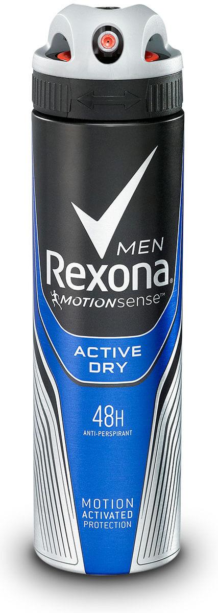Rexona| רקסונה - דאודורנט אקטיב ספריי לגבר תמונה של