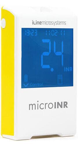 microINR מד קרישה + 25 מקלוני בדיקה במחיר מנצח!תמונה של