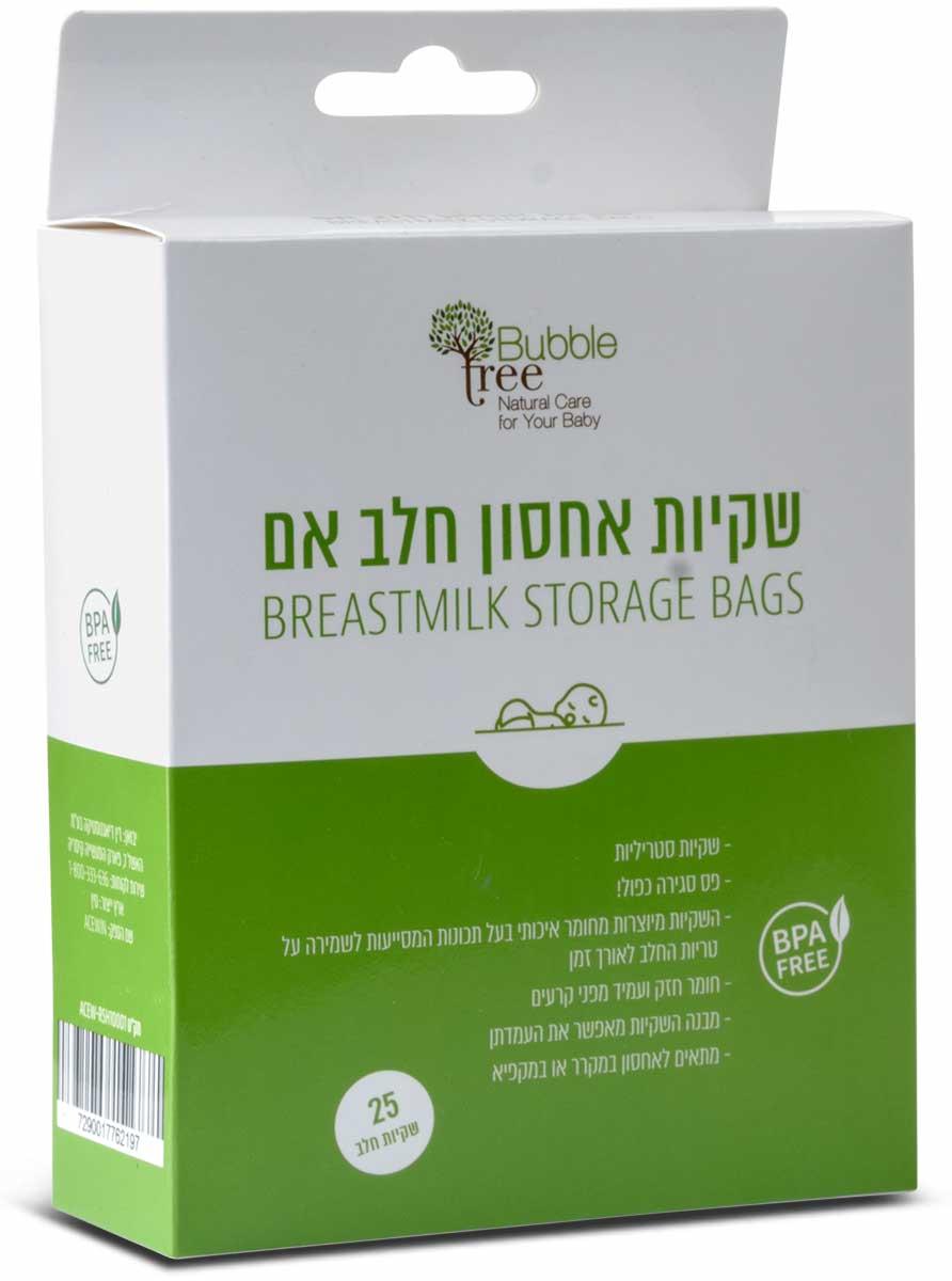 שקיות אחסון לחלב אם | Bubble Treeתמונה של