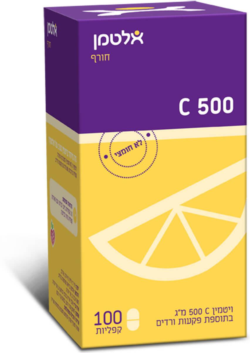 אלטמן ויטמין C-500 לבליעהתמונה של